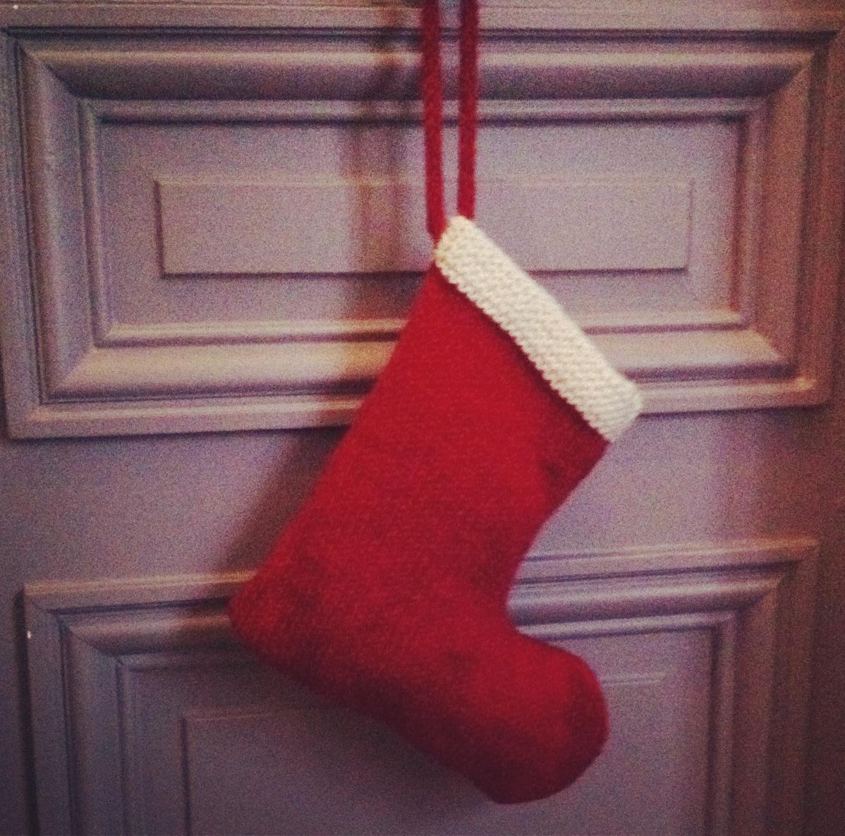 Chaussette de Noël