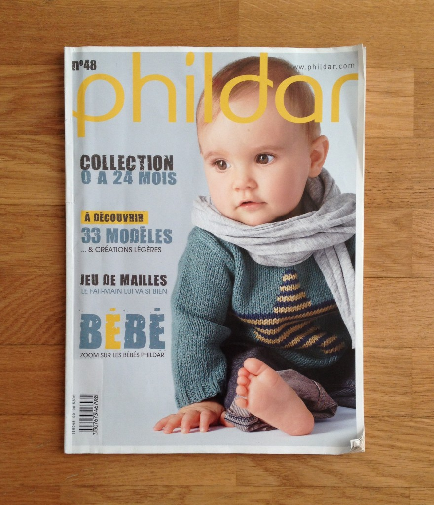 catalogue phildar bébé