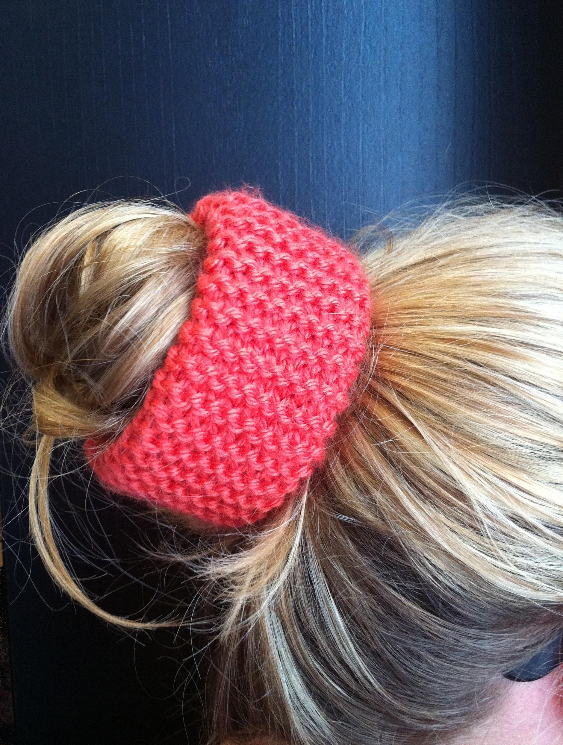 bracelet tricoté cheveux