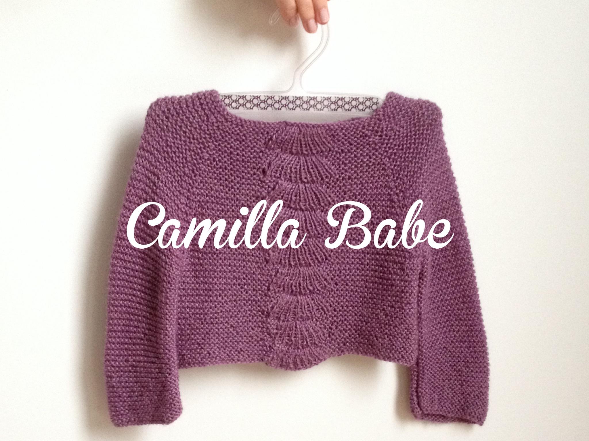 Camilla babe (cadeau handmade #2)