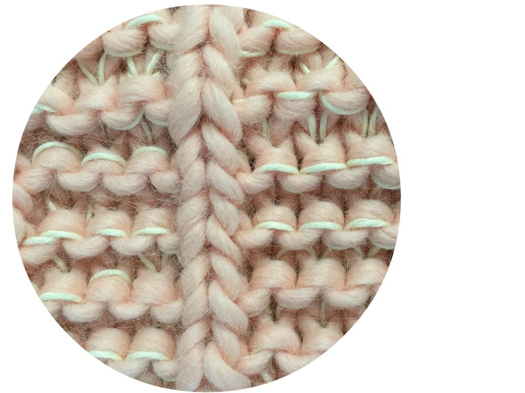 gros plan tricot