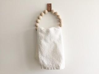 Mon petit porte-serviette en bois