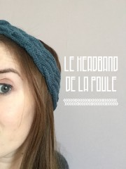 Le headband de la Poule