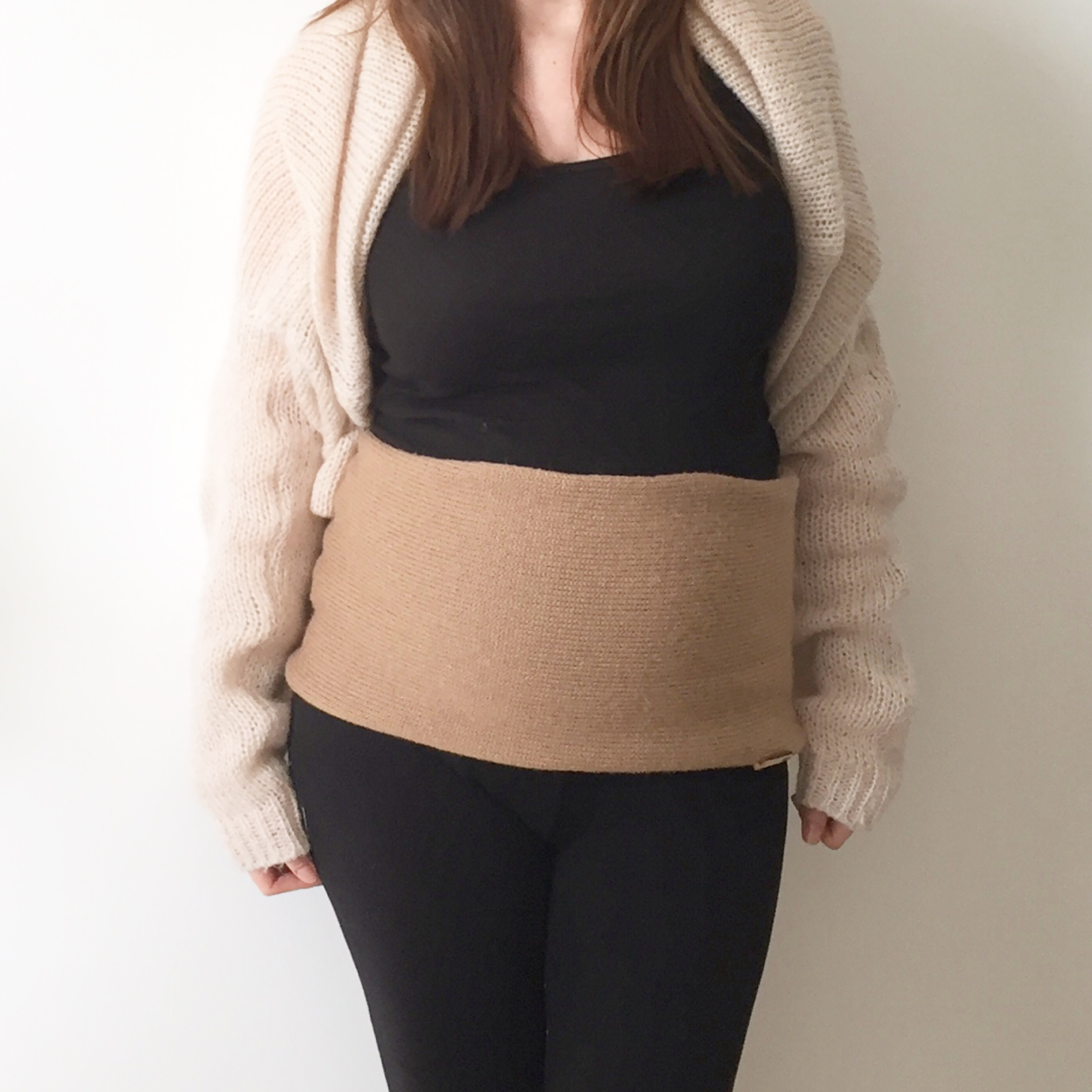 bandeau grossesse tricot