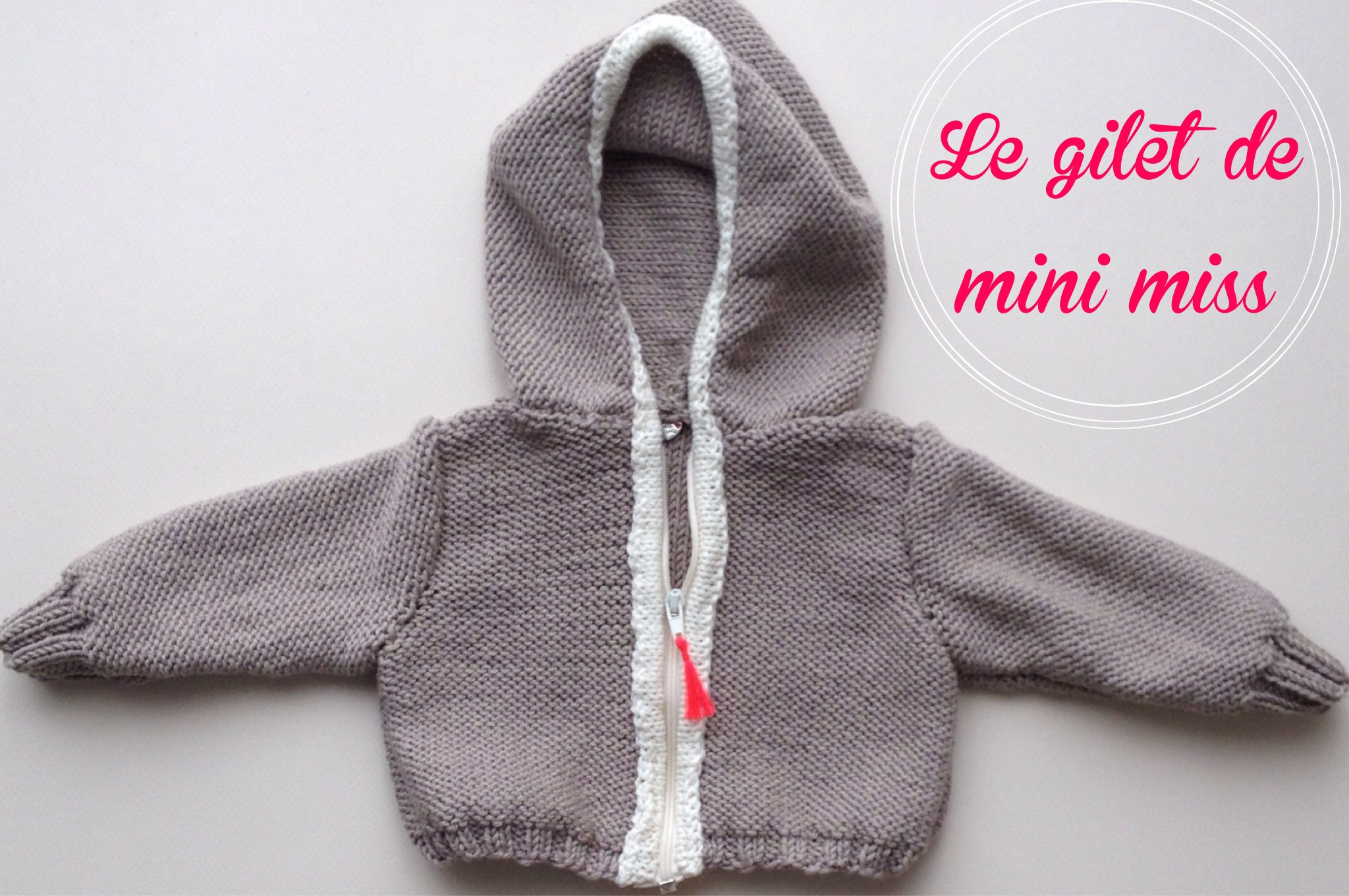 Gilet pour mini-miss