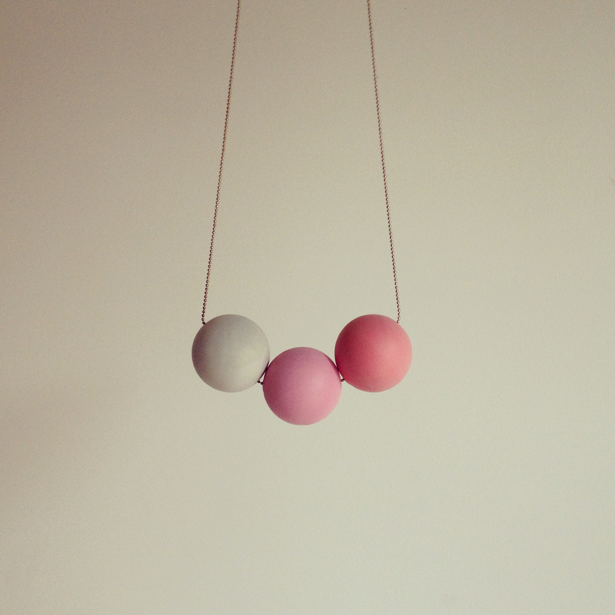 Le collier ping-pong