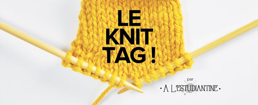 Le Knit Tag