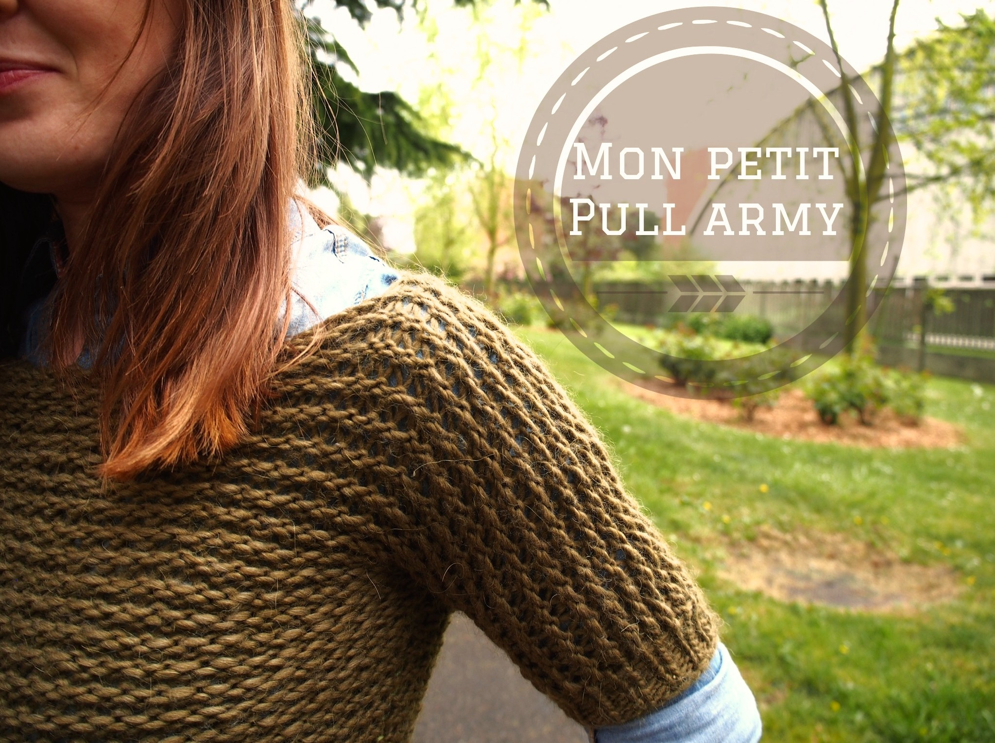 Mon petit pull army
