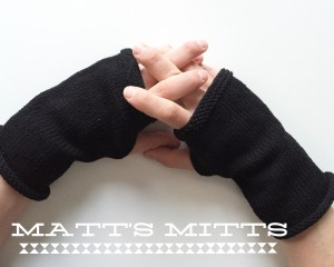 Matt's mitts (ou les mitaines de Matthieu en français dans le texte)