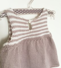 La petite robe rayée