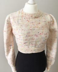 My cropped sweater