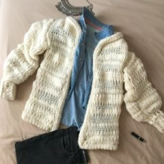Mon Tribunal Cardigan de We Are Knitters