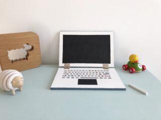 Son premier ordinateur (en bois) - DIY