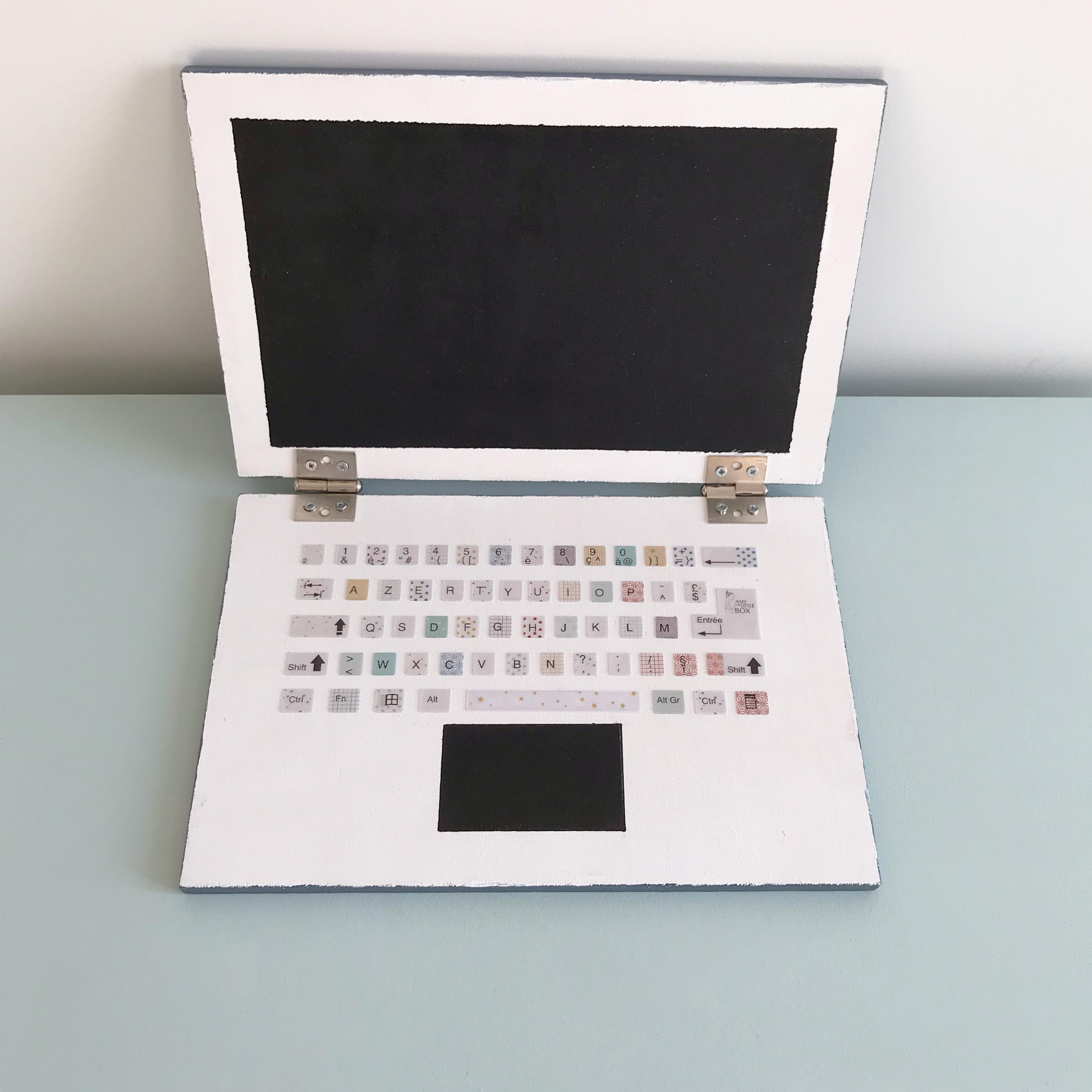 Comment Coller De L Ardoise son premier ordinateur (en bois) – diy – charlov